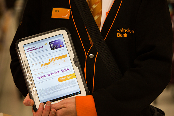 Sainsburys Bank Cards In Store